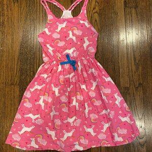 Tommy Bahama unicorn dress girls 6